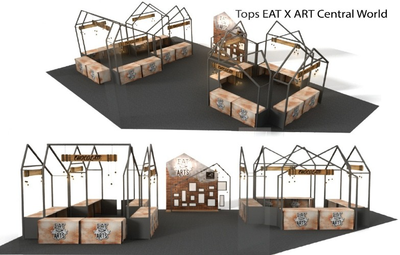 Tops EAT X ART – Central World