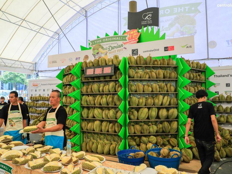Durain Fruit Fest 2019 @CTW